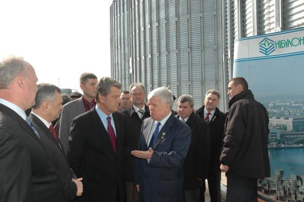 Фоторепортаж по визиту Президента