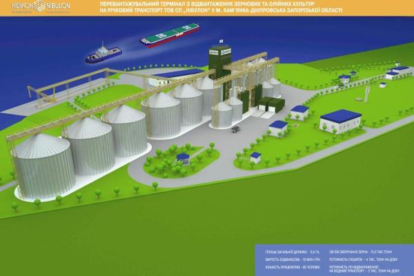 Прес-реліз: ТОВ СП «НІБУЛОН» розпочинає будівництво нового об'єкта з відвантаження зернових та олійних культур у рамках масштабного інвестиційного проекту
