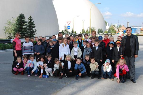 Фоторепортаж о посещении учениками ОШ №20 Перегрузочного терминала ООО СП НИБУЛОН