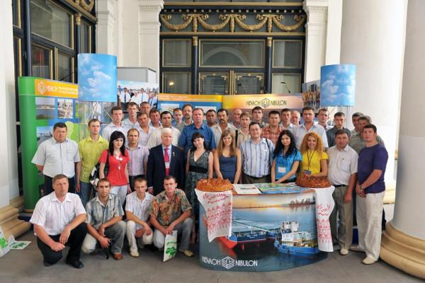На «АГРО-2010» «НІБУЛОН» представив унікальний проект відродження річкової логістики