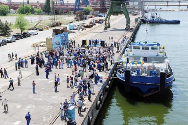 Обіцяли – виконали: Миколаївський суднобудівний завод «Океан» спустив  «первістка «НІБУЛОНівської» флотилії»