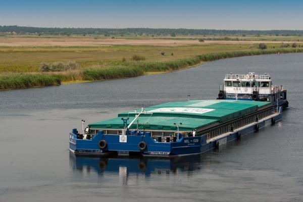«НІБУЛОН» в 6 разів перевершив рекорд радянських часів з обсягів річкових перевезень Південним Бугом