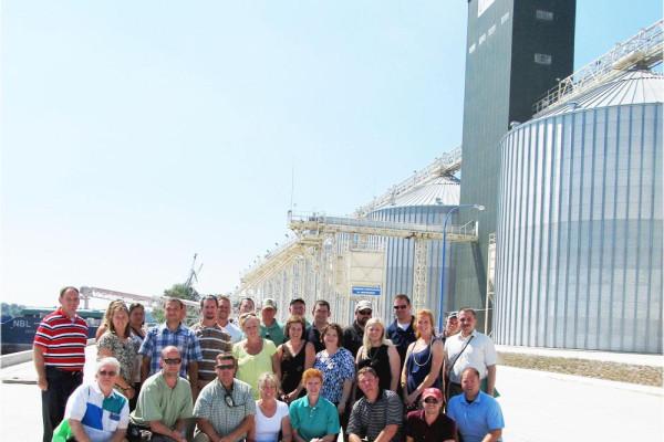 Американські аграрії відвідали ТОВ СП «НІБУЛОН»