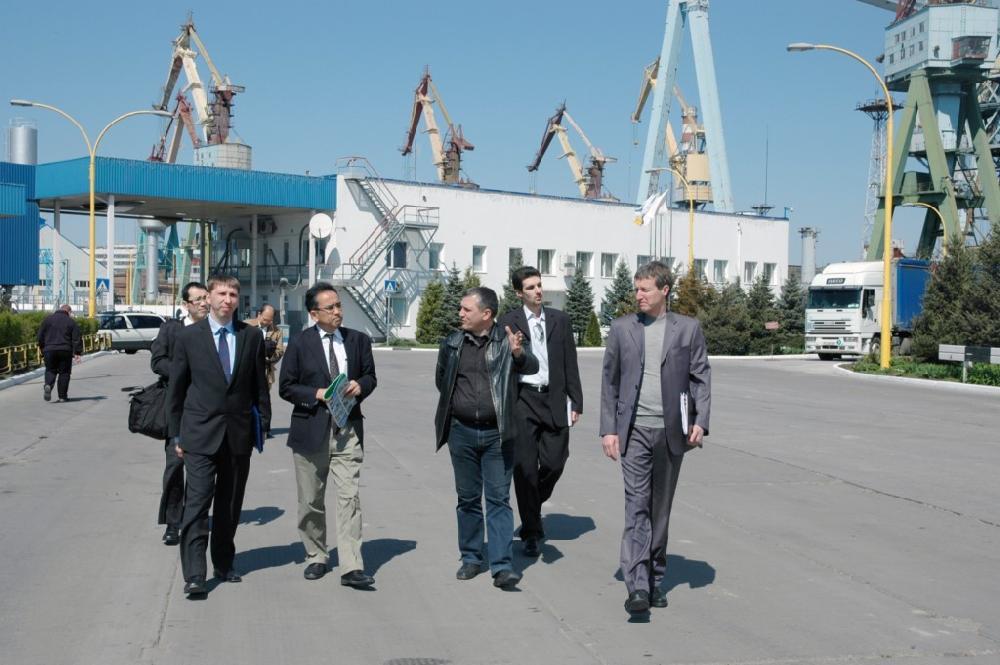 Екскурсія на перевантажувальному терміналі для зернових та олійних культур (м. Миколаїв)