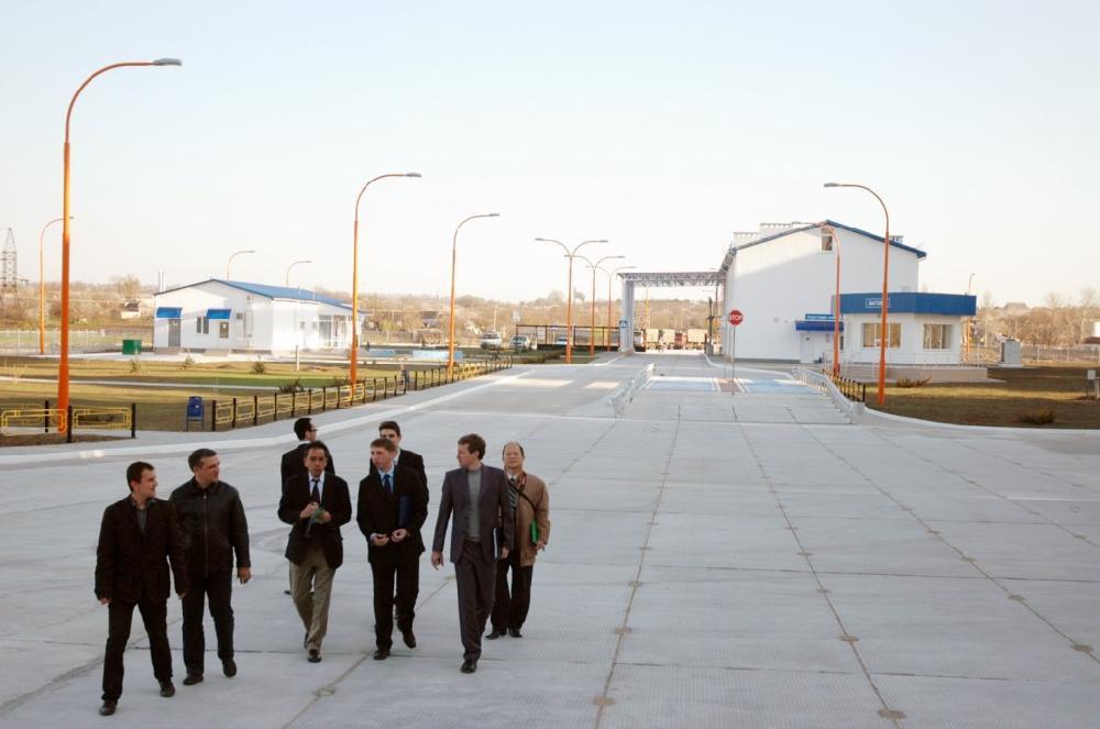 Екскурсія на річковому терміналі філії «Новоодеська» ТОВ СП «НІБУЛОН»