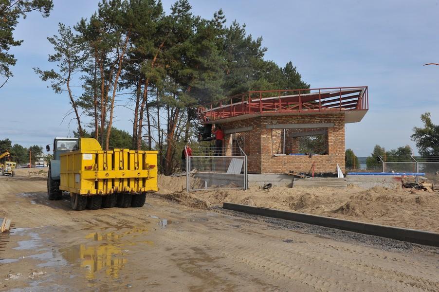 Будівництво контрольно-пропускного пункту