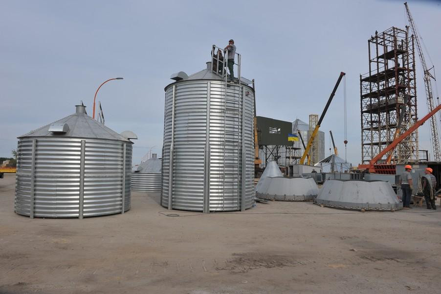 Силоси для зберігання вологого зерна