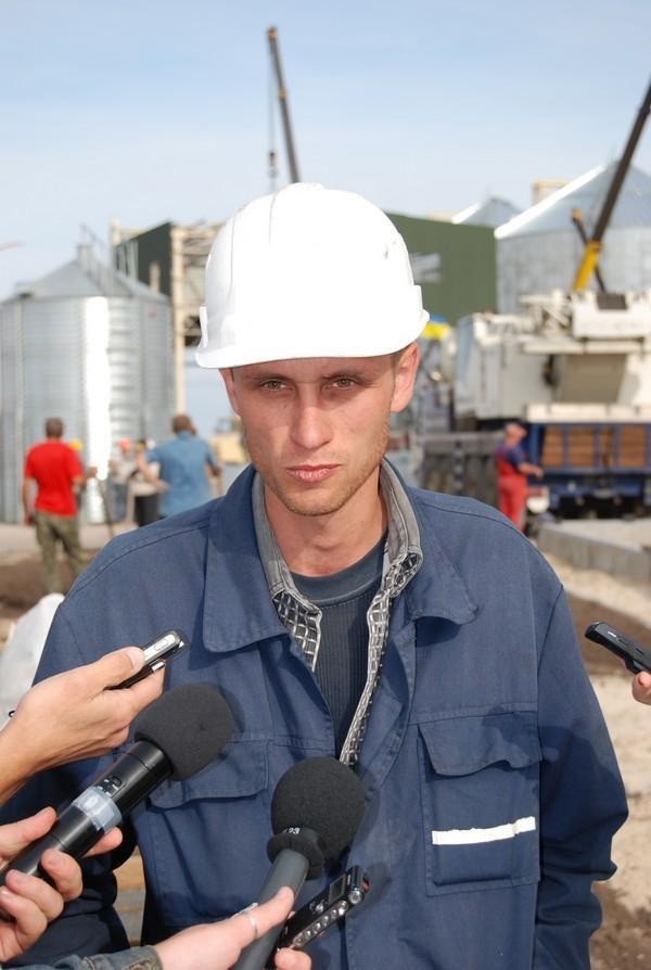 На будівництві побували представники вітчизняних ЗМІ