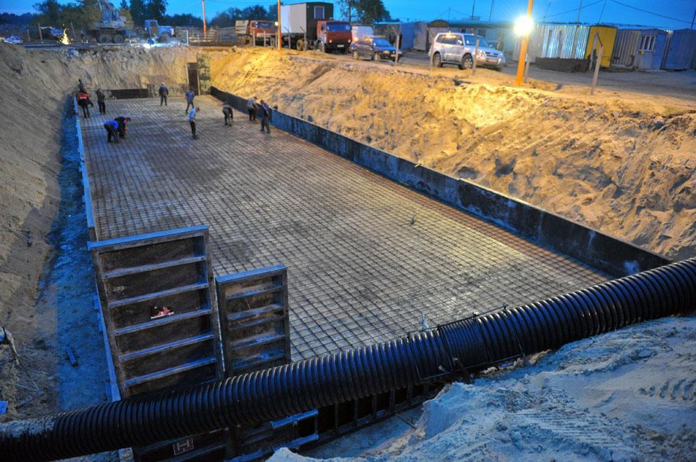 Резервуар для збирання стічних вод