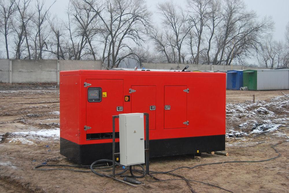 Тимчасове електропостачання (Дизель-генератор)