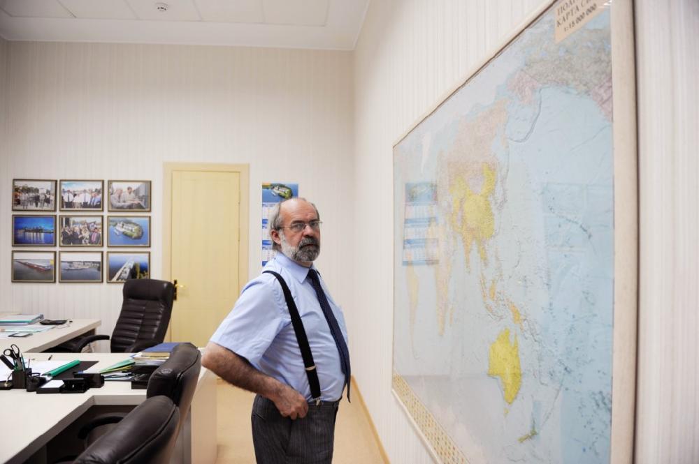 Гості у робочому кабінеті Олексія Вадатурського