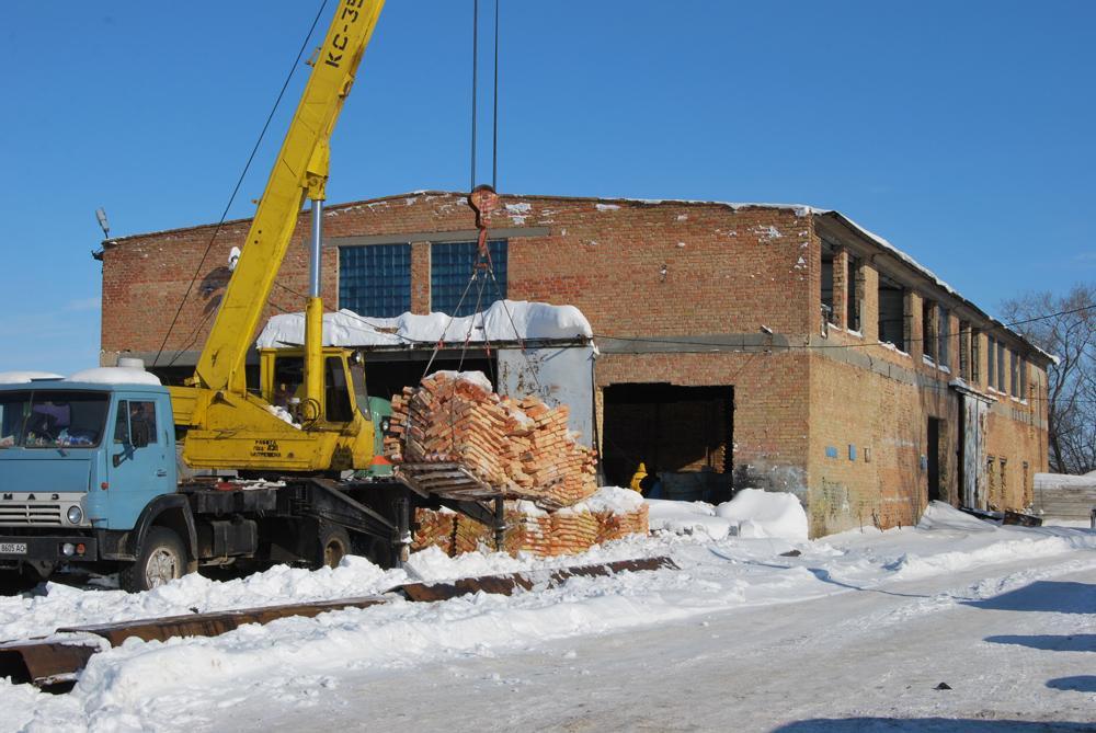 Реконструкція будівлі під побутовий корпус (ТОВ «ДРОНГО», директор М.В.Онищенко)