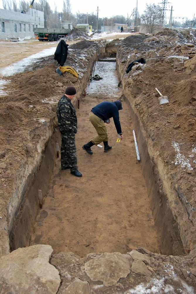 Працюють археологи