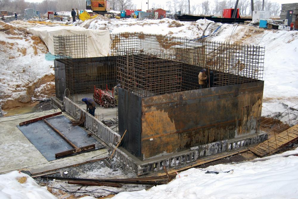 Фундамент під норійну башту