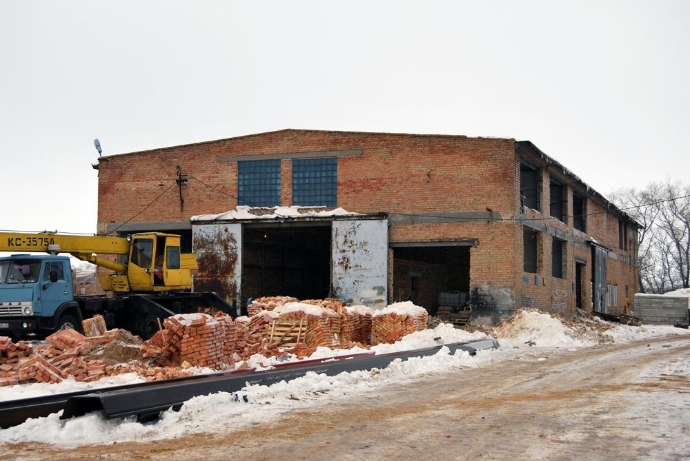 Реконструкція будівлі під побутовий корпус