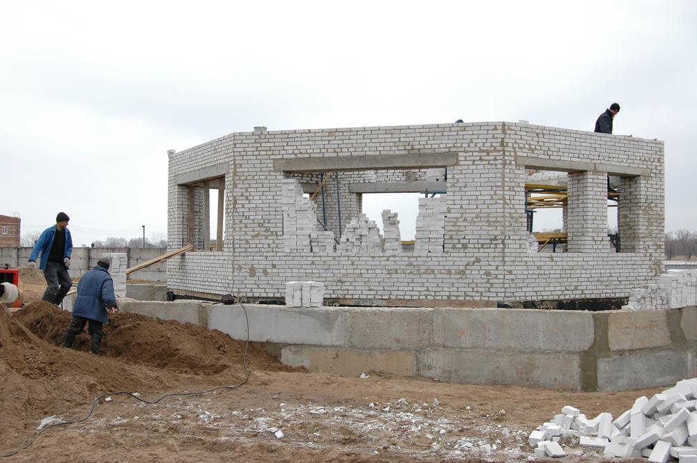 Будівництво вагової