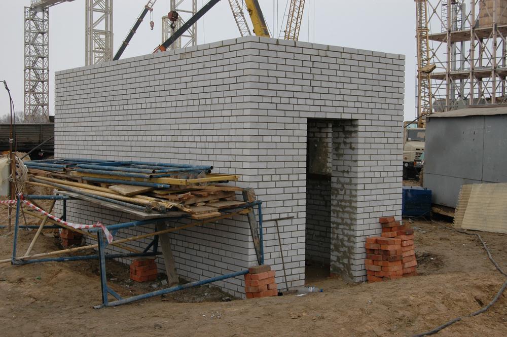 Будівництво зовнішніх туалетів