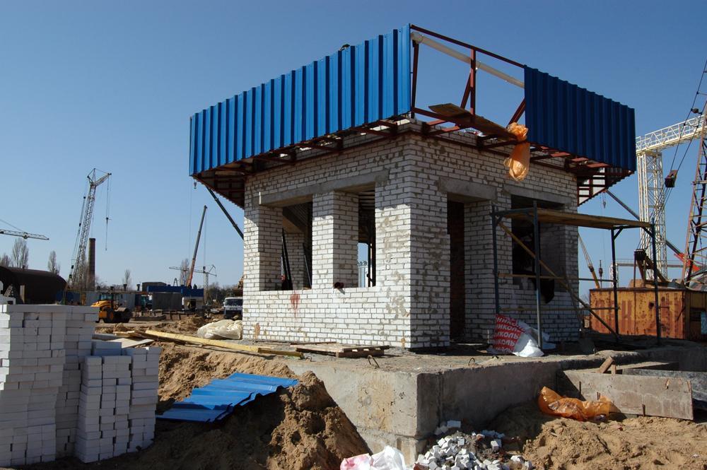 Будівництво операційної вагової
