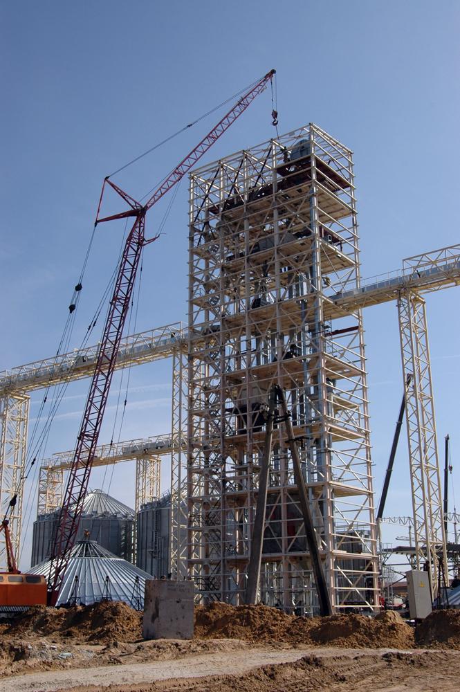 Зведення норійної башти