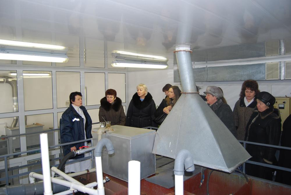 Візит вчителів географії Миколаївської області, які проходять курсову передпідготовку при МОІППО