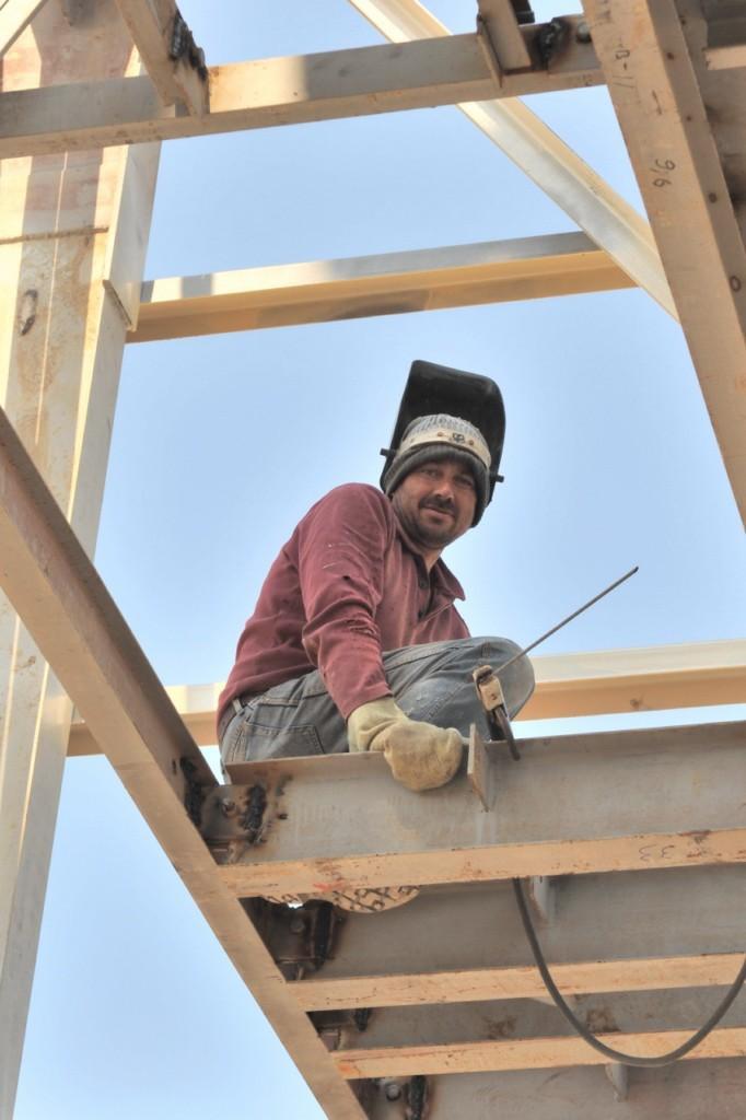 Будівництво робочої башти