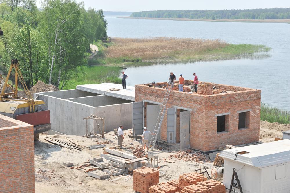 Будівництво насосної підстанції та пожежного резервуара
