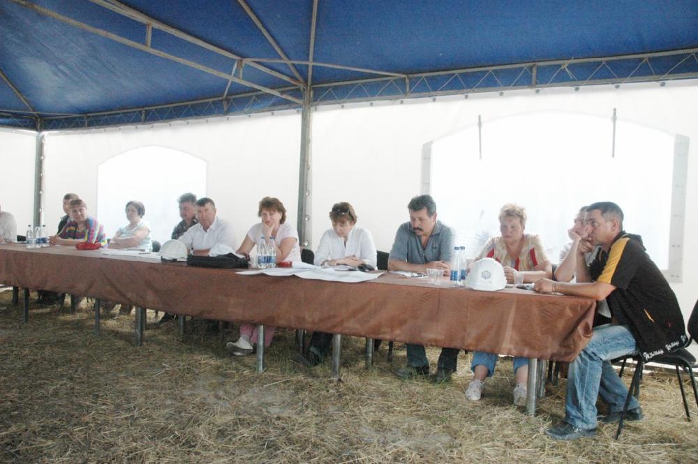 Нарада за участі керівників підрядних організацій