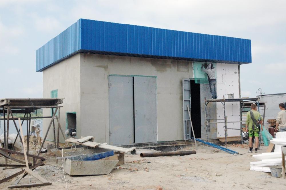Будівництво насосної підстанції