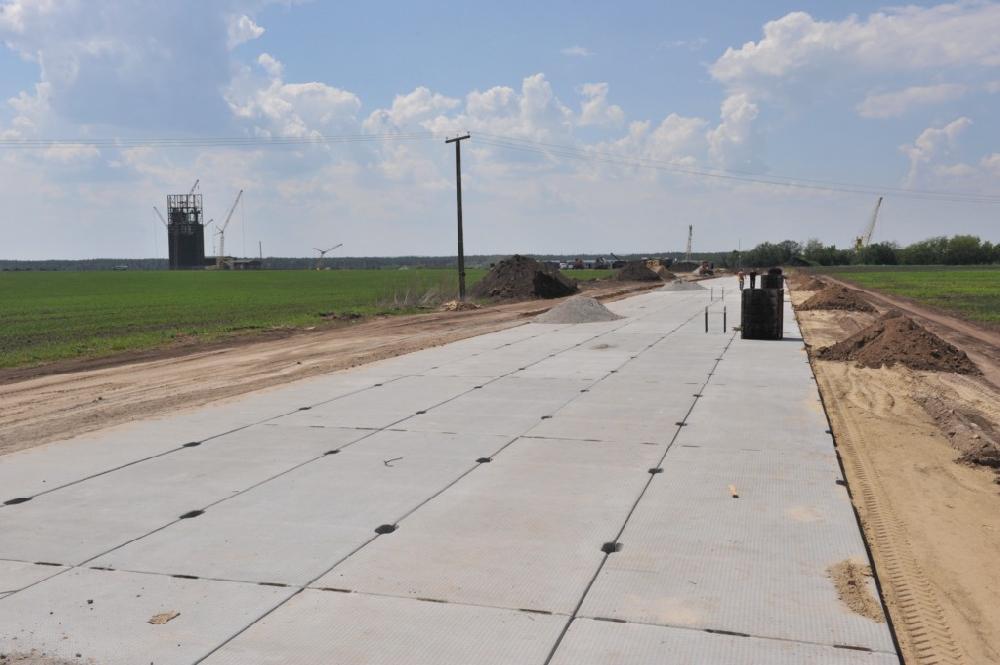Будівництво під'їзної дороги