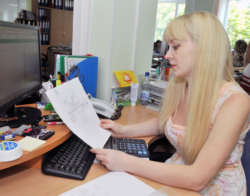 Сидоріна Лілія, бухгалтер групи реалізації товарів та послуг
