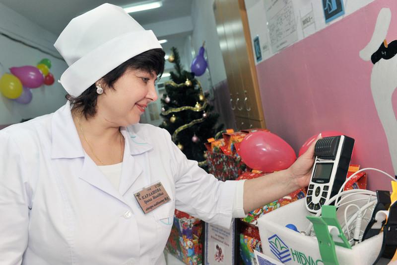 Урочиста передача сучасного медичного обладнання Миколаївській міській дитячій лікарні №2