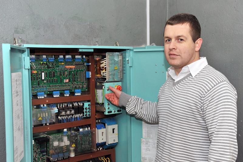 Інженер-енергетик Андрій Нертик