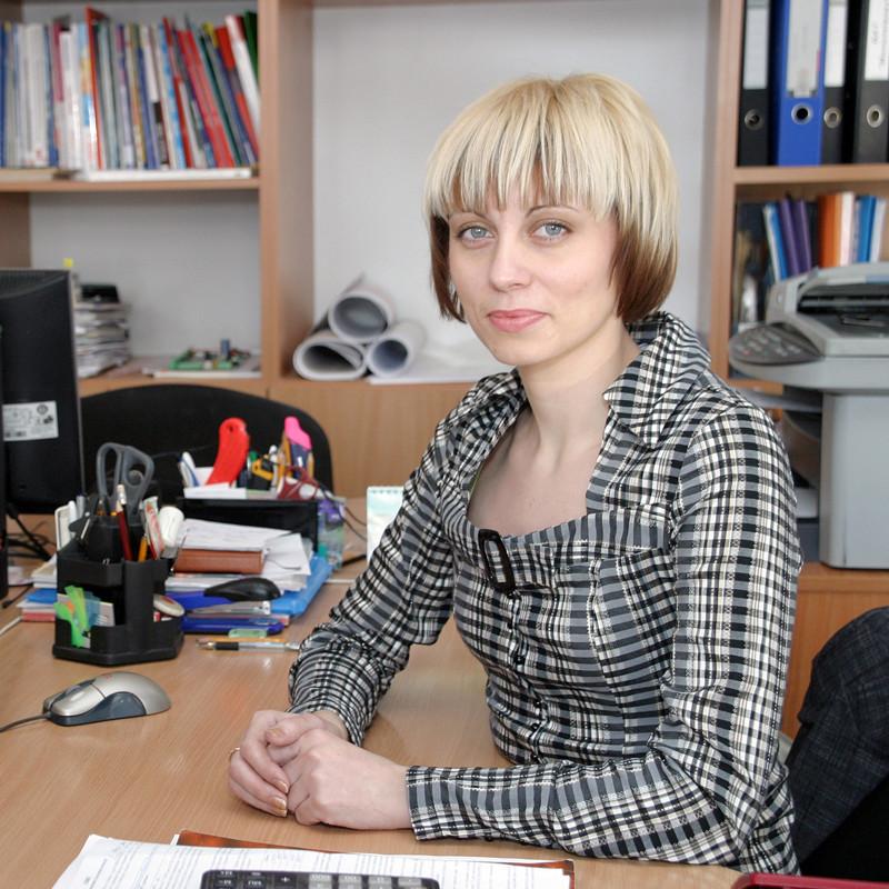 Економіст Вікторія Татаренко