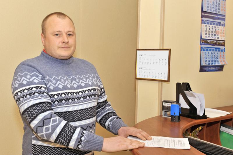 Начальник служби тваринництва та продуктів його переробки Микола Гончарук