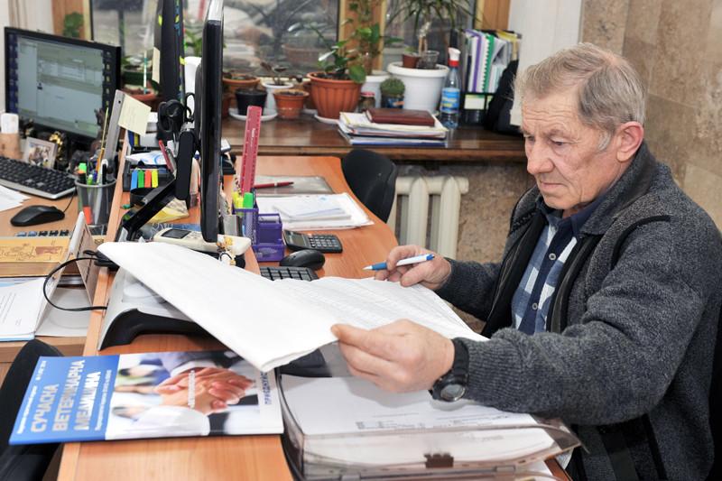 Ветеринарний лікар служби Леонід Баранов