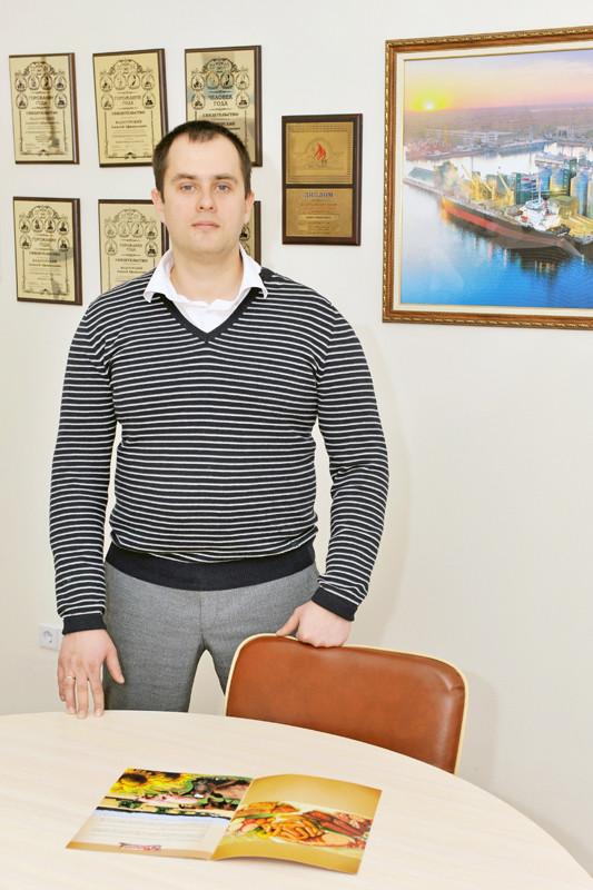 Денис Шаловінський, начальник відділу по забезпеченню тваринництва та реалізації  продуктів його переробки