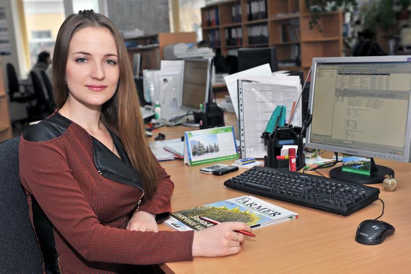 Економіст відділу Ірина Дмитришина