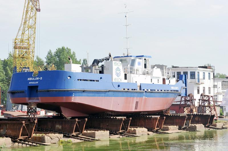 До спуску на воду «NIBULON-5» – лічені дні