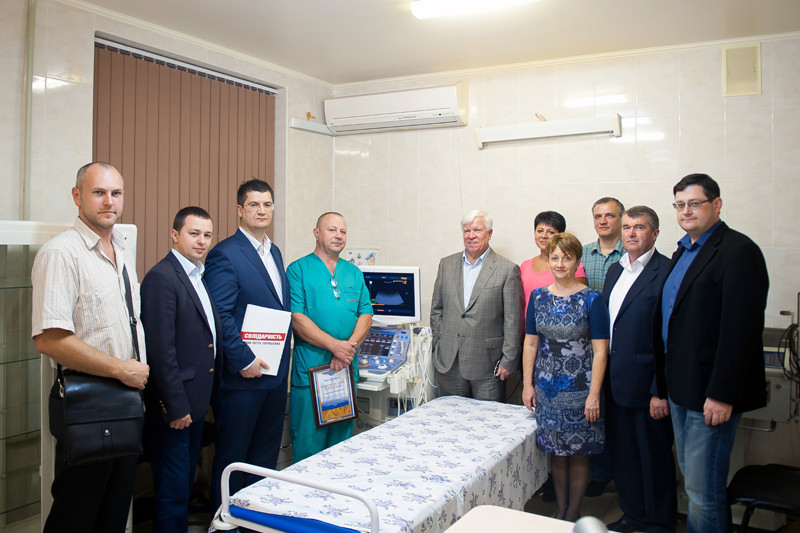 «НІБУЛОН» передав унікальне діагностичне обладнання  Миколаївській обласній лікарні