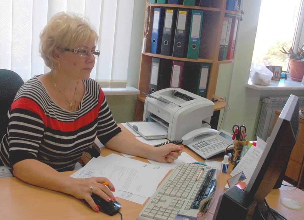 Економіст з касових операцій фінансового відділу Світлана Бочарова