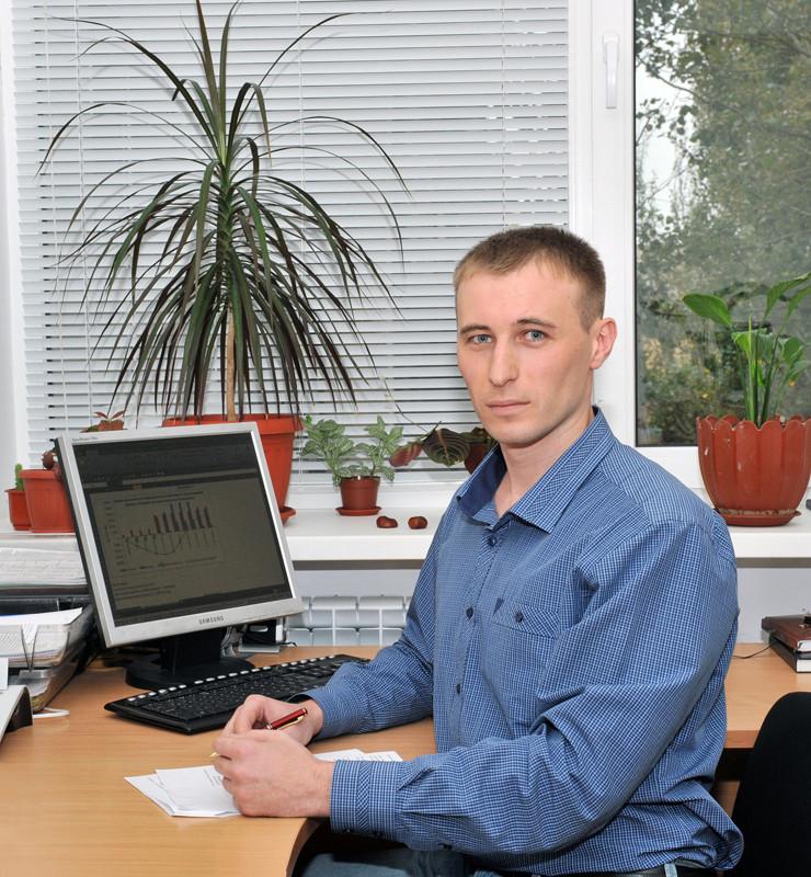 Начальник відділу економічного аналізу та планування Євген Дідик