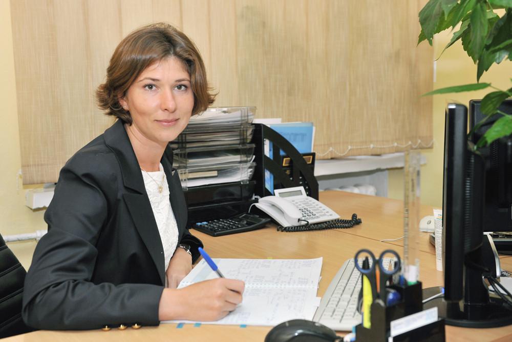Начальник відділу паливно-мастильних матеріалів Марина Прилуцька