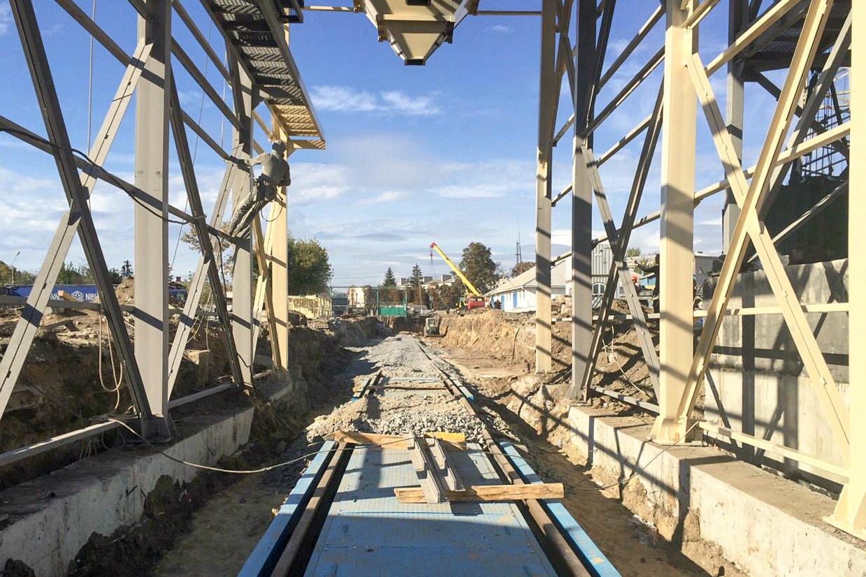 Будівництво елеваторного комплексу добігає кінця