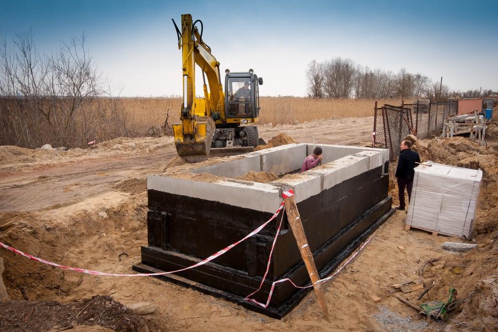 Будівництво санвузлів