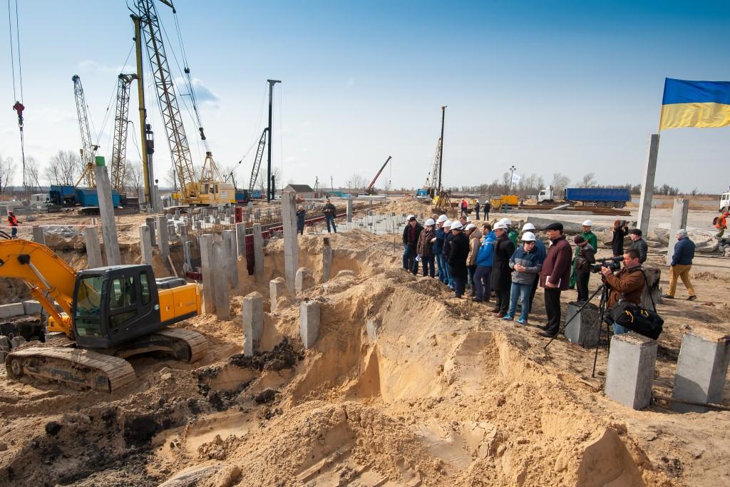 Виробнича нарада на будівельному майданчику філії «Голопристанська»