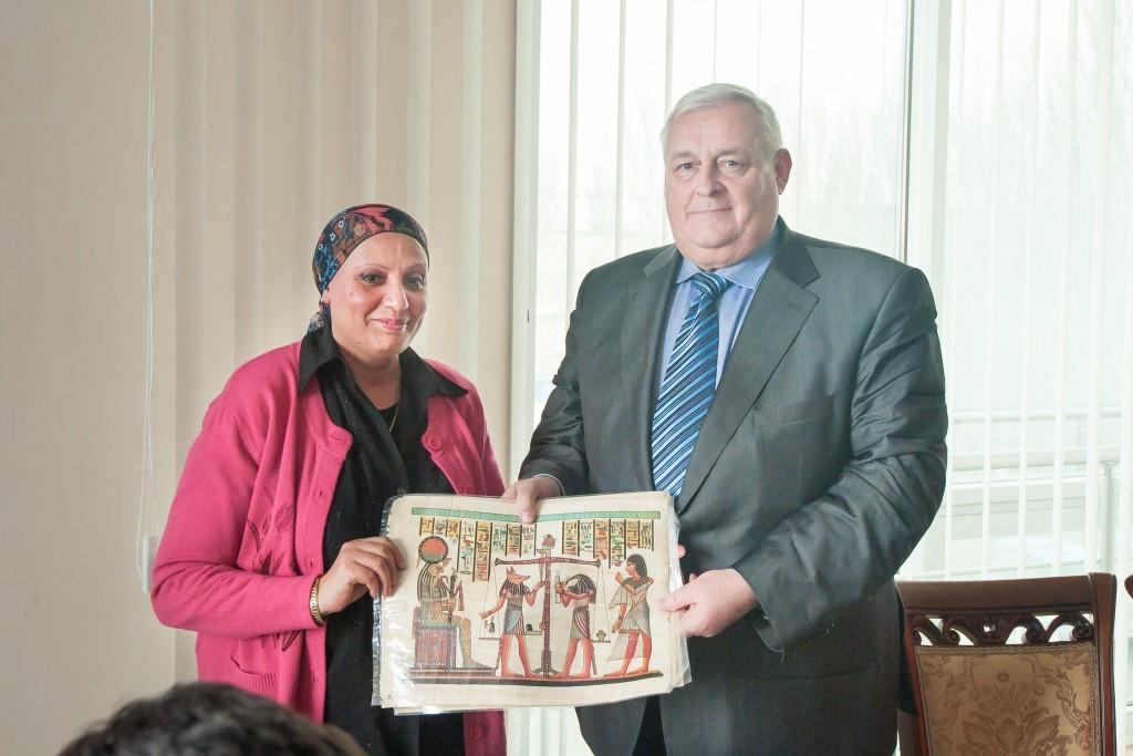 Cпеціалісти з Єгипту в гостях у