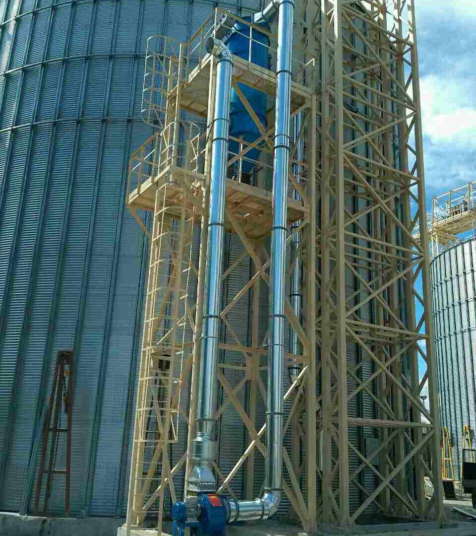 Ємності для зберігання зерна  (філія «Хортиця»)