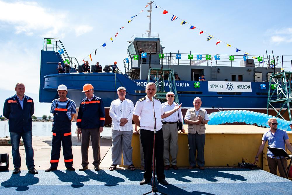 Заступник генерального директора з будівництва, експлуатації флоту та безпеки судноплавства Андрій Волік