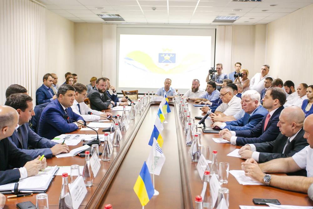 Зустріч із представниками бізнесу Миколаївщини