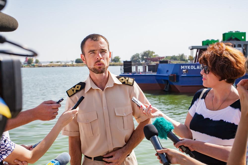 Директор судноплавної компанії «НІБУЛОН» Олексій Лалін